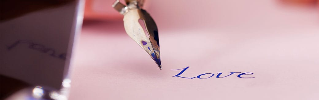 Create a handwritten lover letter for your spouse