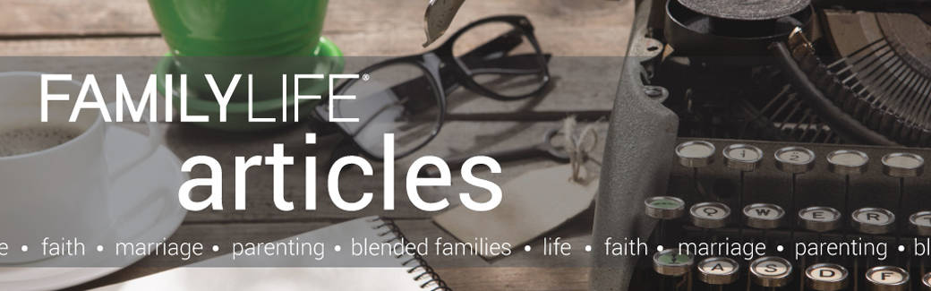 Old typewriter and glasses on wooden desk – FamilyLife Articles