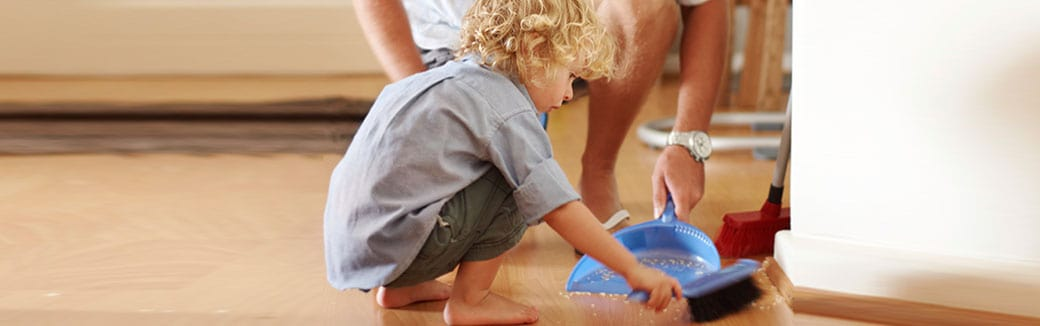 teaching your toddler to do chores