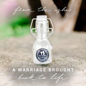 Divorce Paper ashes