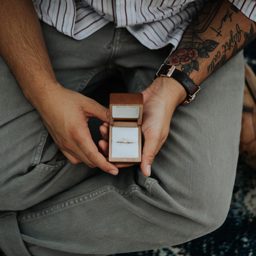 Our Dating And Engagement Story