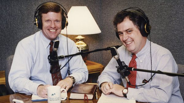 FamilyLife Today Host Dennis Rainey With Cohost Bob Lepine